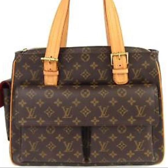 8ed768e3e6a7 Louis Vuitton Handbags - LOUIS VUITTON Monogram Shoulder Bag LG   Rare